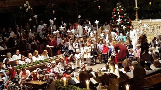 Christmas In Boston Massachusetts.Children S Christmas Pageant Trinity Church Boston Ma