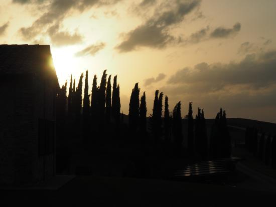 Ville di Corsano, Ιταλία: Sunset