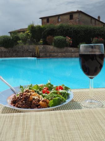 Ville di Corsano, Ιταλία: The pool