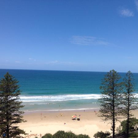 Coolum Beach, ออสเตรเลีย: View from balcony Unit 71 / 11th floor