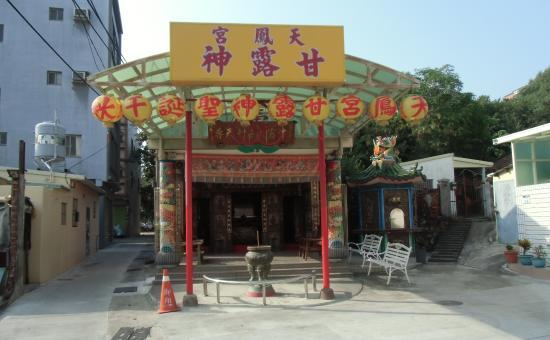 Tianfenggong: 街中の小さな廟