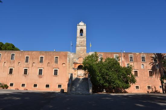 Monastery of the Holy Trinity, Chania, Crete, Greece ...