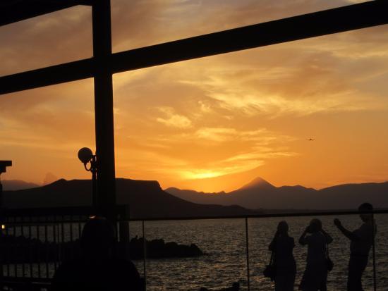 Golden Bay Hotel: View from restaurant