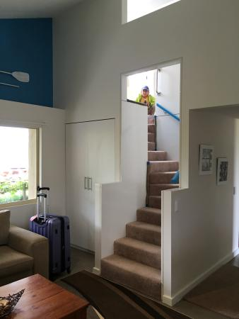 Pelican Point Sanctuary: Stairs To Attic