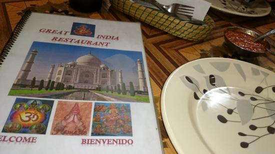 Great India Restaurant