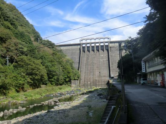 Yubara Onsen : 湯原ダム