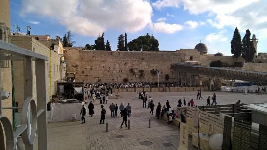 National Hotel Jerusalem: Mur des Lamentations