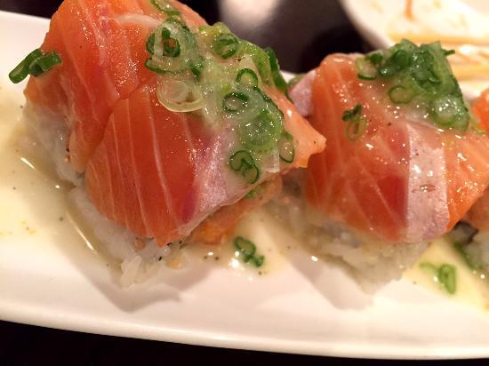 Bop N Sushi: salmon lover's