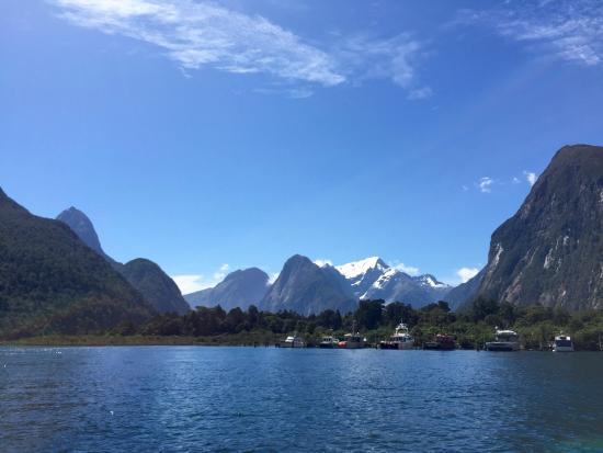 Κουίνσταουν, Νέα Ζηλανδία: サウンドフライからの船から