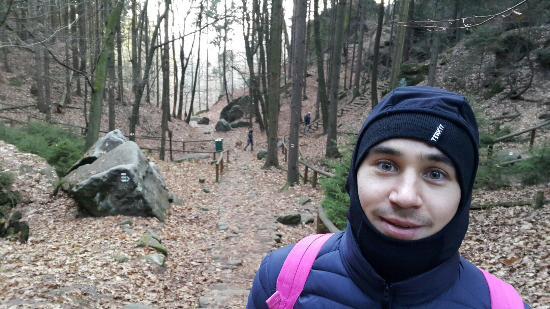 Moravie, République tchèque : начало восхождения