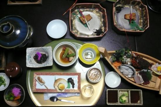 Hotel Shinayoshi: 夕食