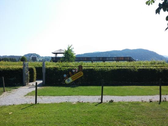 Rosegg, Αυστρία: Ingresso del labirinto
