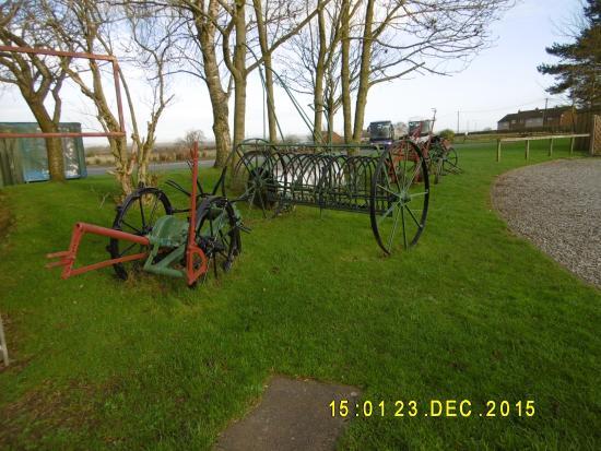 Famous Blacksmiths Shop: Farm Implements on Show