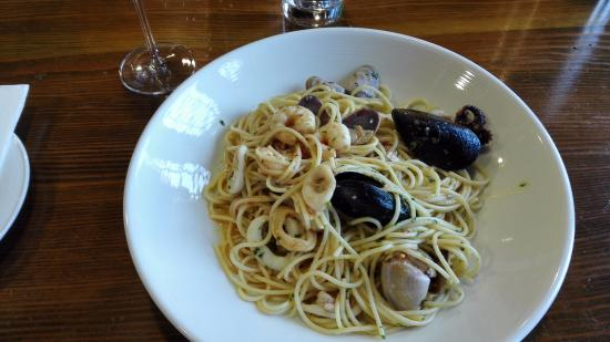 Barossa Valley, Australia: Seafood Pasta. very tasty