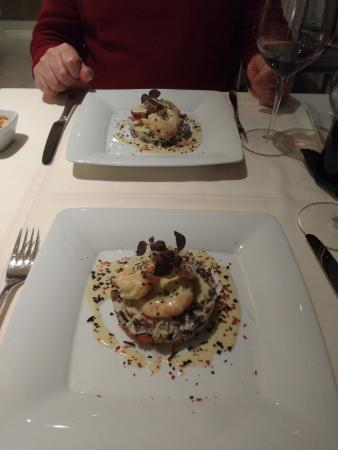Villa Venecia Hotel Boutique: Cenando