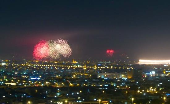 Park Regis Kris Kin Hotel: Burj Dubai New Year Celebrations