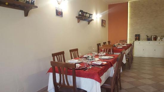 Piazza al Serchio, Italien: pranzo di natale