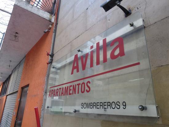 Apartamentos-Hotel Avilla: 入口は分かりづらいです