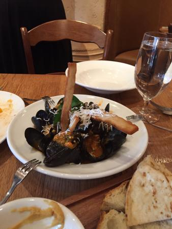 Radnor, PA: Mussels