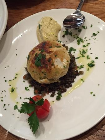 Radnor, PA: Crab cake