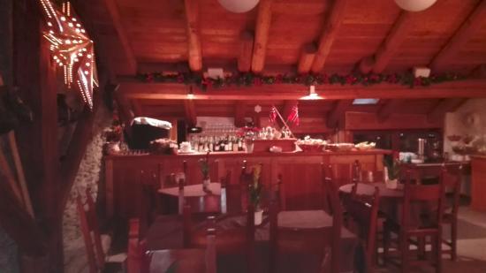 Chalet Faure & SPA: locale per la colazione