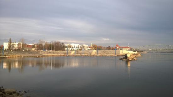 Ibis Budget Torun: View from the river bank