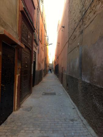 Riad Vanilla sma: ruelle du riad