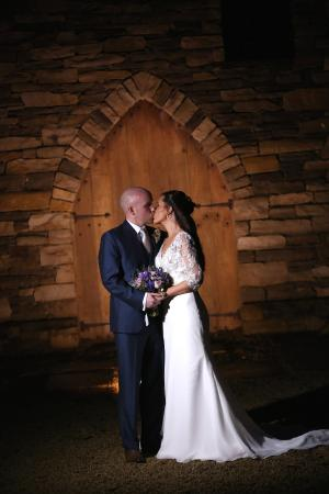 Speenoge, Irland: Secret kiss at the grounds of the An Grianan