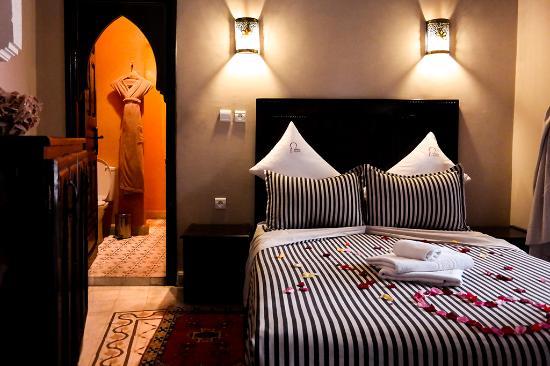 Riad - Hotel Marraplace : chambre