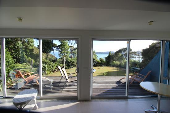 Opua, نيوزيلندا: Kauri Suite mit Aussicht