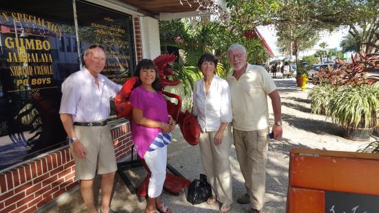 Jensen Beach, FL: Entrance to Crawdaddy's