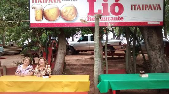 Mirandopolis, SP: Restaurante do Lio
