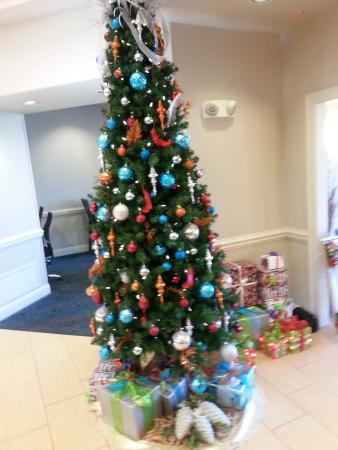 Residence Inn Sandestin at Grand Boulevard : decorated lobby