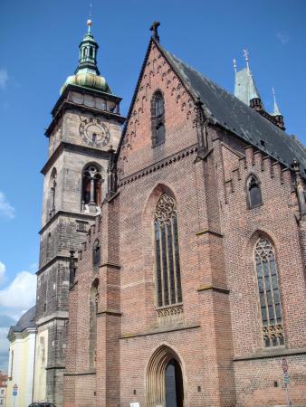 Hradec Kralove, جمهورية التشيك: Bílá věž a Katedrála sv. Ducha