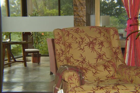 Poas Volcano Lodge: Sala
