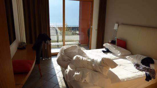 Cima, Italia: Unsere Suite - Schlafzimmer