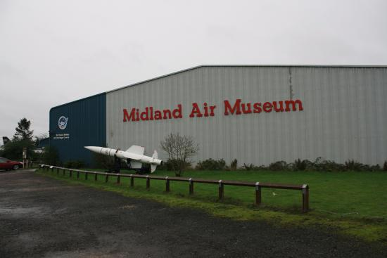 Coventry, UK: Front of Museum