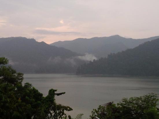 Belum Rainforest Resort: View from the room balcony