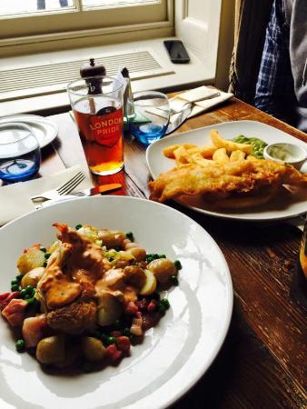 The Old Customs House, Gunwharf Quays: Ottimo cibo ma portata minima, visto anche il prezzo