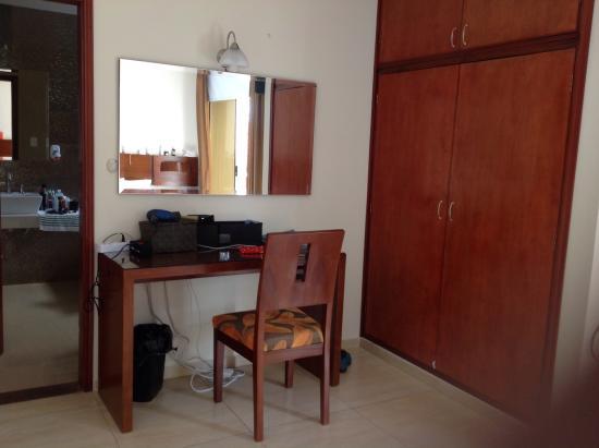 Yacuiba, Bolívia: Blick vom Bett