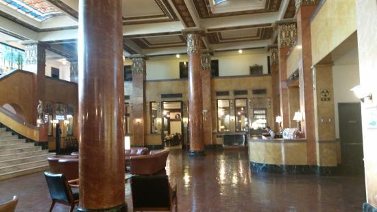 Douglas, Аризона: Lobby Gadsden Hotel