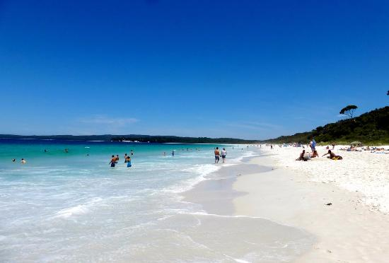 Hyams Beach à Jarvis Bay - Australie