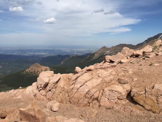 Pikes Peak: Amazing views