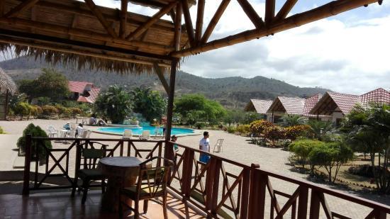 Vista Desde La Terraza De Nuestra Cabaña Picture Of