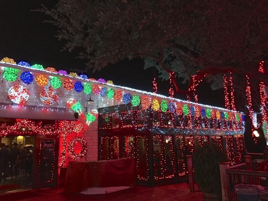Mozarts outdoor holiday musical light show display picture of mozarts coffee roasters mozats holiday lights aloadofball Choice Image