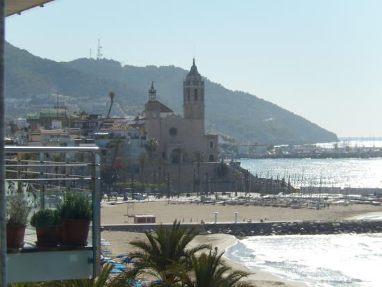 Hotel Calipolis: View of St Barts