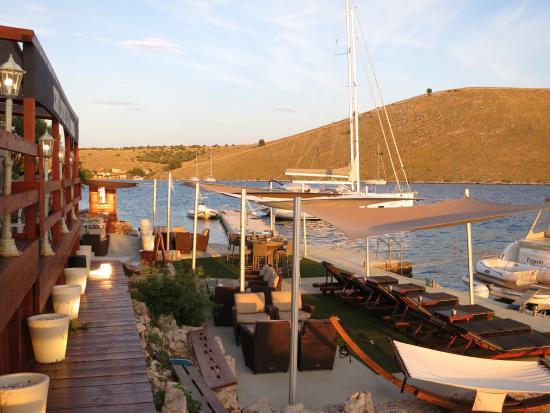 Kornati Islands National Park, Croacia: blick auf den Steg