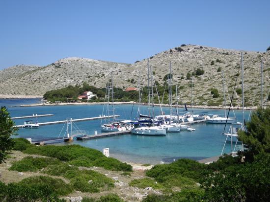 Kornati Islands National Park, Croacia: Piskera Hafen im Nationalpark