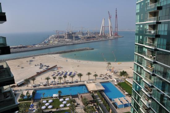 Doubletree By Hilton Hotel Dubai Jumeirah Beach Two Bed Suit 22nd Floor View