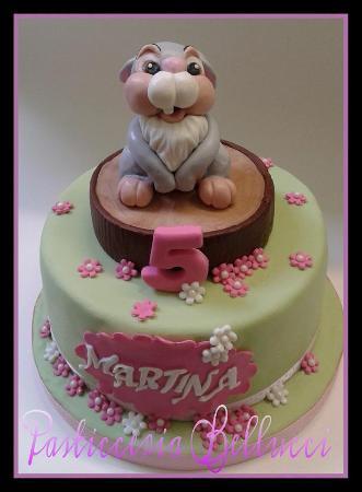 Torte Di Compleanno Decorate e Classiche   Walt Disney Tamburino